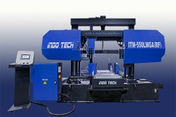 ITM-550LMGA(RF) - NC Fully-Automatic Double Column Bandsaw Machine On Lmg