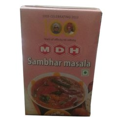 Sambar Powder MDH Sambhar Masala, Packaging Size: 100 g, Packaging Type: Box