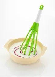 Foldable Plastic Whisk Beater Hand Blender Mixer for Milk Coffee Egg Beater Juicer