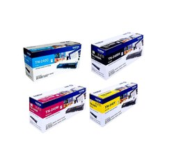 Laser TN-240 C/B/Y/M Brother Toner Cartridge, For Printer, Packaging Type: Box