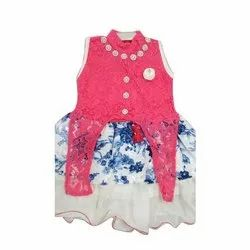 Synthetic Fabric Girls Casual Wear Frock, Size: 20, Age Group: 8 Months- 2 Years
