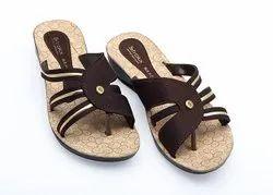 Sania 6 Ladies PU Slipper