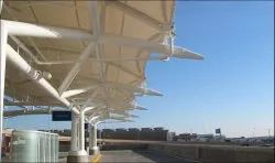 Bus Stop Tensile Structure