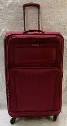 American Polo USA 76 CM Red 4 Wheeler Luggage Trolley bags / Suitcase Trolley Polyester