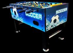 Foosball Table Amusement Game