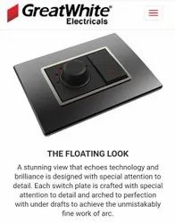 Greatwhite Arcus Floating Switches & Colour Plates & Accessories
