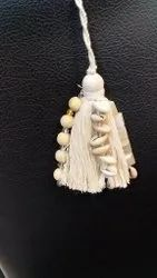 Cotton With Stone Tassel