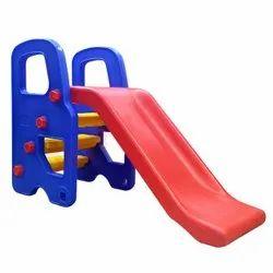 Straight Playground Toy Kids Plastic Bus Slide, Age Group: 2-3