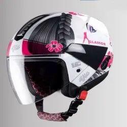 SBH-5 Vic Glamour Steelbird Open Face Helmet, Size: 600 mm