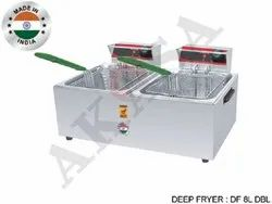 Akasa Indian Electric Double Deep Fryers