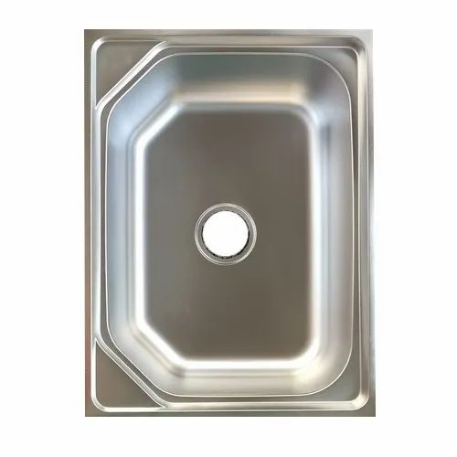 Stainless Steel Undermount Ss Single Bowl Kitchen Sink Size 24 X 18 Inch Id 22640907297