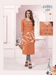Kanika Aditi Vol 3 Affordable Price Kurti Catalog