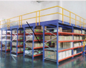 Mezzanine Floor Rack System