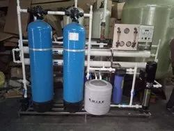 Industrial 1000 LPH FRP RO Plant