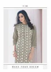 vink lucknowi 2 attractive kurti with bottom catalog