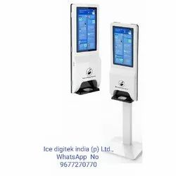 Light Weight Touch Free Hand Sanitizer Dispenser Standing Automatic Hand Sanitizer Dispenser