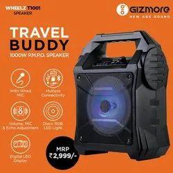 GIZMORE T1001 WHEELZ - Portable Party Speaker