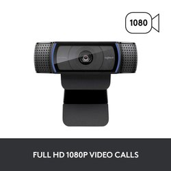Logitech C920 HD Pro Webcam (Black)