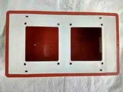 OMEGA Plastic 7 x 4 PVC Open Switch Board