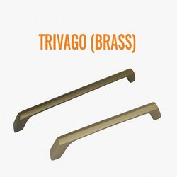 Trivago 96 Mm Brass Cabinet Handle
