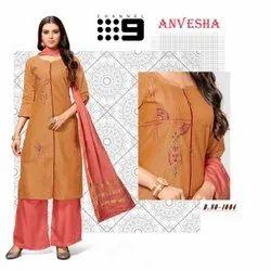 ANVESHA - 3  Piece Designer Kurti