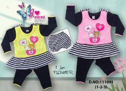 Girl Casual Wear NEW BORN BABY DRESS, Age Group: 1*3 YEAR