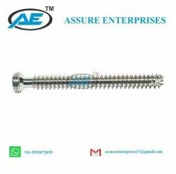 8.0 mm Cannulated Cancellous Locking Screw Fully Threaded