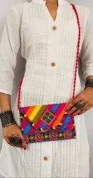 Bandhani Print Side Bag-sling Bag For Women-Casual Wear