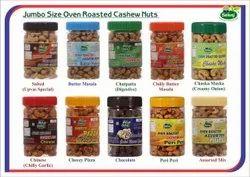Sunriseoverseas Mumbai Salted Cashew-1kg 850 GST, Packaging Type: Plastic Jar