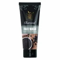Herbal Black Charcoal Clarifying Pore Cleansing Face Wash, For Personal, Packaging Size: 100 Gm