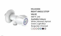 Right Angle Stop Valves