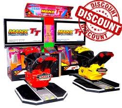 Bike Racing Arcade Game Machine - Man X TT Twin 42