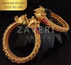 695 Rajwadi Polish Bangles