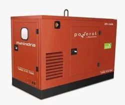 Three Phase 22.5 kVA Mahindra Generator Set