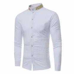 FST Cotton Men Designer Shirt, Machine wash