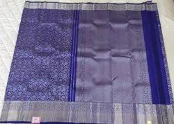 Blue Silk Saree In Coimbatore