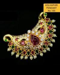 100 Kolhapuri Fashion Pendant