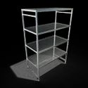 SS Perforated Storage Rack For Cold Rooms