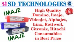 Markem Imaje printer Red Ink & Additives - 800ml
