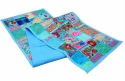 Bohemian Multicolored Table Cloth Handmade Ethnic Cotton Table Cover Decorative Table Throw