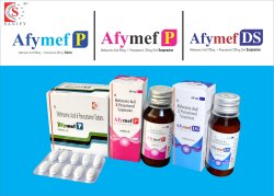Mefenamic acid 100mg   Paracetamol 250mg