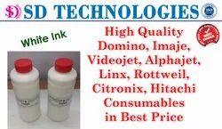 Rottweil Inkjet Printer White Ink 1000 ML