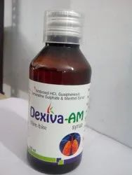 Ambroxol Guaiphenesin Terbutaline Sulphate And Menthol Syrup