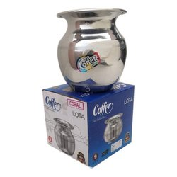 Coral Stainless Steel Lota