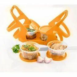 Lexi 1-bandel In 96 Pcs Plastic Lunch Box, 4 Pieces