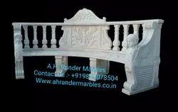 Bench Decorative Stone Art