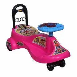 4 Color Super Racer Magic Car, For School/Play School