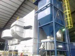 Rice Husk Fired Hot Air Generator
