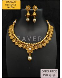 564 Rajwadi Antique Necklace Sets