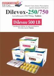 Dilevox-250 Tablet Levofloxacin 250mg